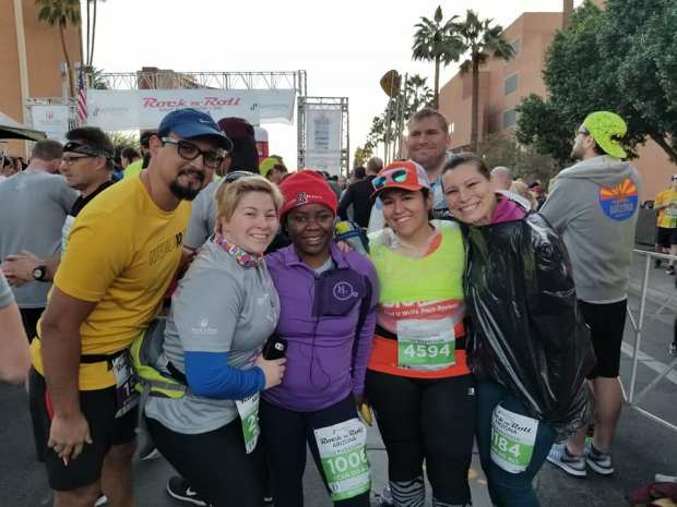 """""""Disclaimer: I received free entry to the Rock n Roll Arizona Half Marathon race as part of being a BibRave Pro. Learn more about becoming a  BibRave Pro  (ambassador), and check out  BibRave.com  to review find and write race reviews!"""""""