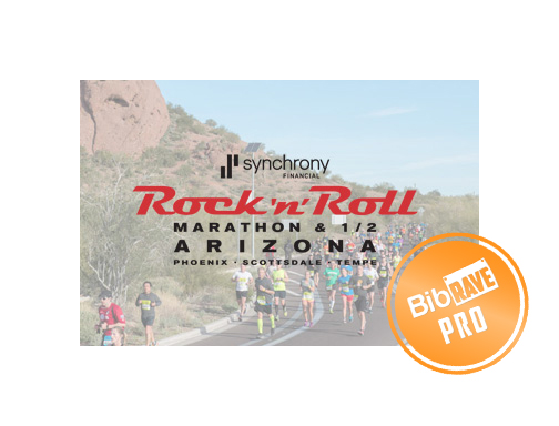 """Disclaimer: I received free entry to Rock n Roll Arizona race as part of being a BibRave Pro. Learn more about becoming a  BibRave Pro  (ambassador), and check out  BibRave.com  to review find and write race reviews!"""