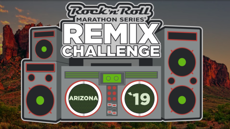 Can't wait to earn this Remix Challenge Medal at the Rock 'n' Roll Arizona Next Week!