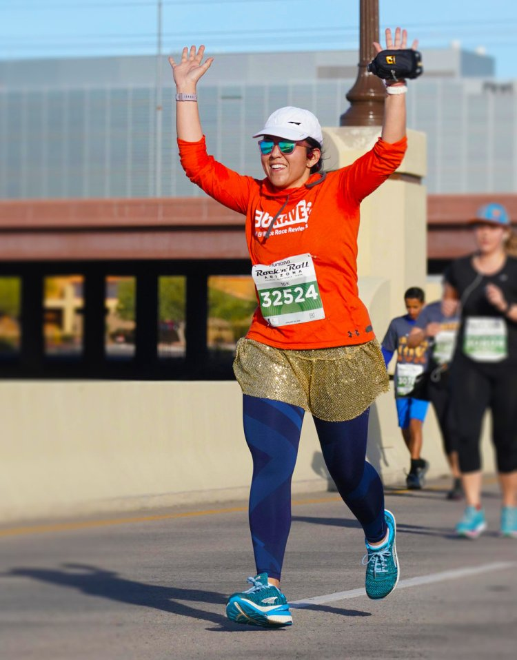 Hands up if you know you're going to PR at the 2019 Rock 'n' Roll Arizona!