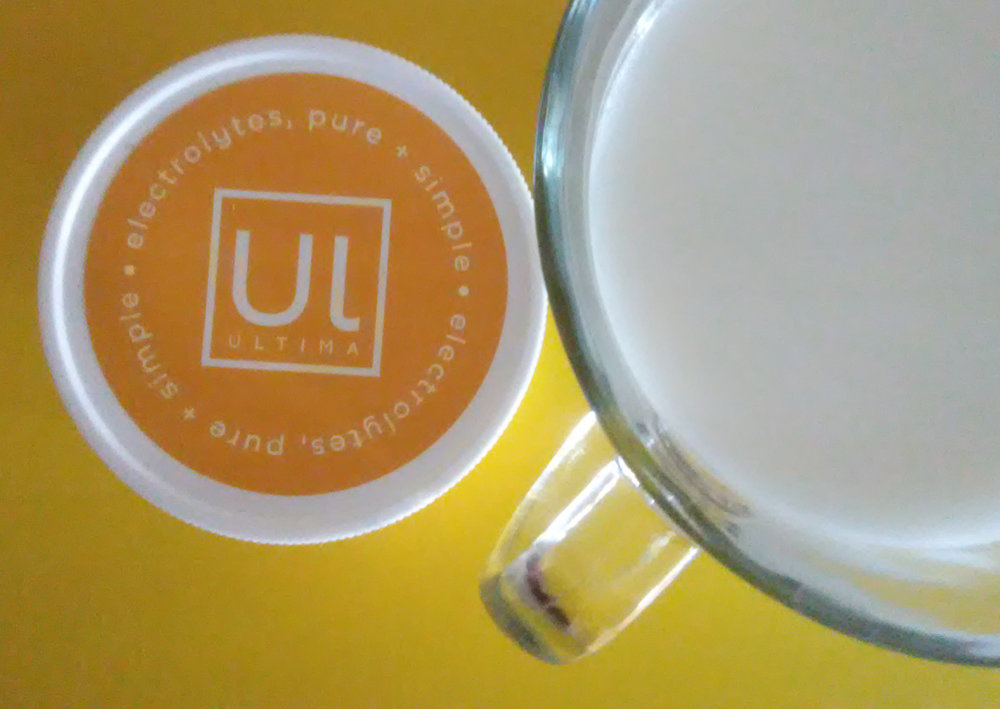 Super excited to share my Hot Lemon Bar drink recipe with you that uses Ultima Replenisher!